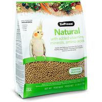 Zupreem Natural Medium Birds 2.5 LB (1.1 KG)