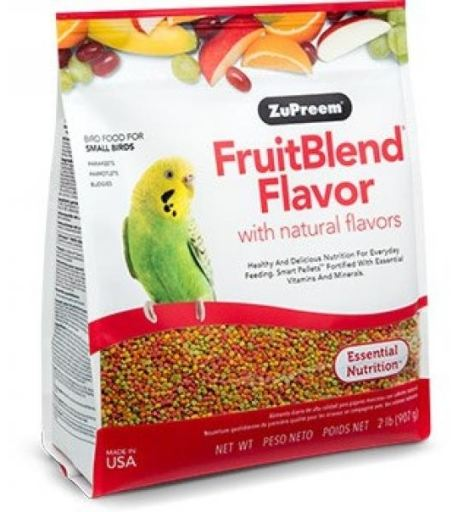 Zupreem Fruit Blend Small Birds 2 LB (907 g)