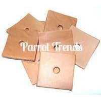 "Leather Squares 2"" x 2"""