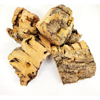 Virgin Cork Bark Chunks - 1/2 LB