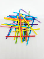 Colored Lollipop Sticks - Small