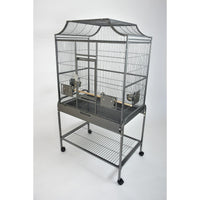 "32"" x 21"" Victorian style Flight Cage for Small Birds"