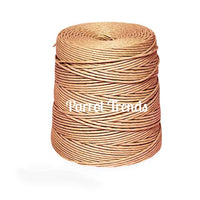 "Roll of 1/8"" Brown Twisted Paper Cord - 600 FT"