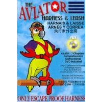 Aviator Harness & Leash - Petite (RED - OUT OF STOCK)