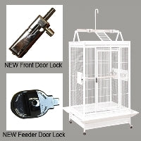 "King's Cages - Superior Line - 34"" x 26"" Play Top Cage"