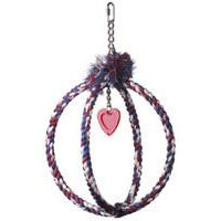 Cotton Rope Double Ring - 12""