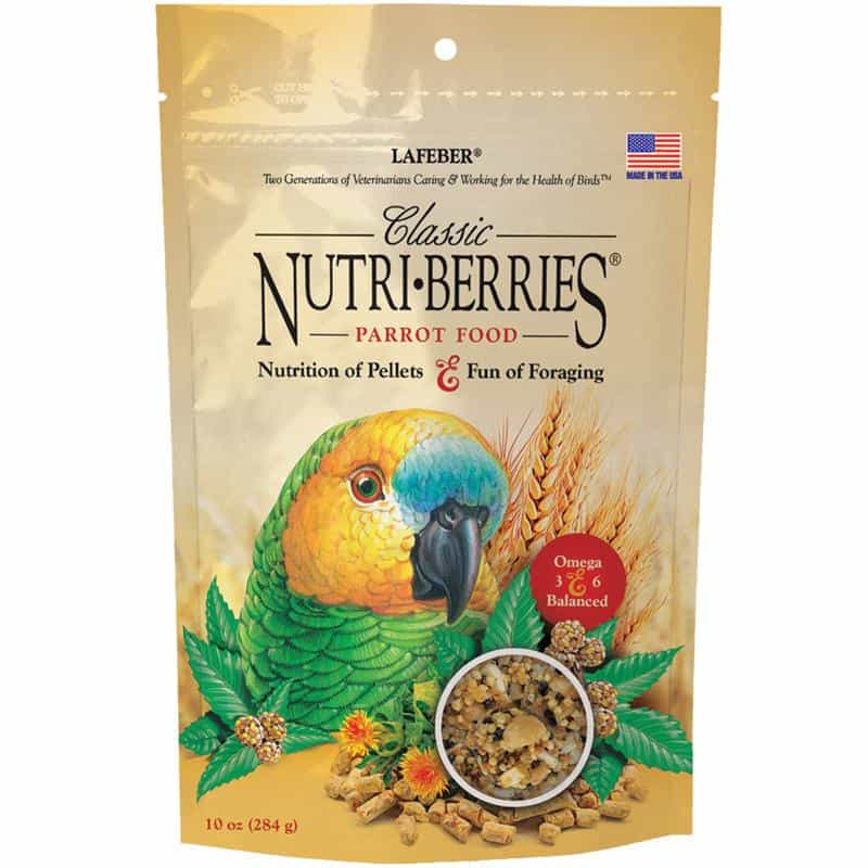 Classic Nutri-Berries  for Parrot - 10 oz