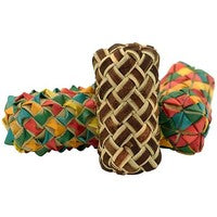 Cylinder Woven Foot Toys - 3 Pk