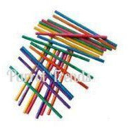 Colored Lollipop Sticks - Large