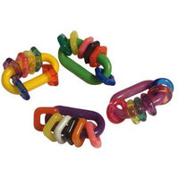 Jingle Jangle Foot Toys - 4 Pk