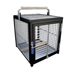 King's Cages ATT1214 Aluminum Travel Cage - 15% OFF AT CHECKOUT - IN STOCK CAGES ONLY