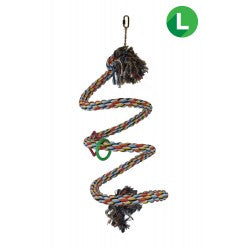 Bungee Rope Bird Perch Large