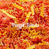 Candy Corn Crinkle Paper
