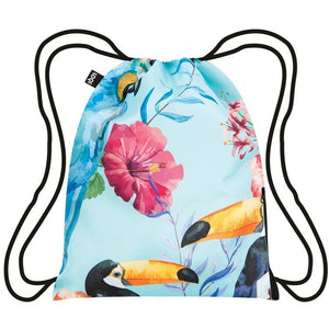 Bird Print Backpack
