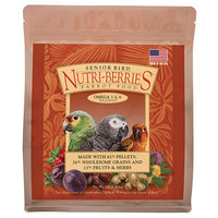 Senior Bird Nutri-Berries for Parrots - 3 LB