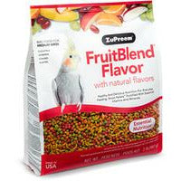 Zupreem Fruit Blend Medium Birds 2 LB (907 KG)