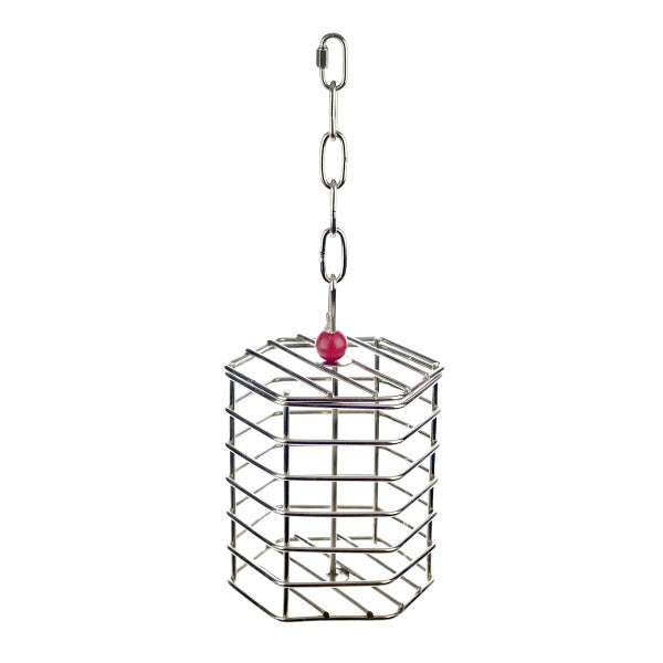 Baffle Cage Large - Stainless Steel (Unfilled)