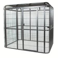"Medium 86""x62"" Walk In Aviary - 1"" Bar Spacing"