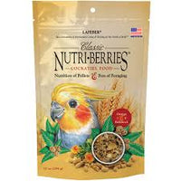 Classic Nutri-Berries for Cockatiel - 10 oz