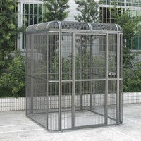 "Small 62""x62"" Walk In Aviary - 1"" Bar Spacing"