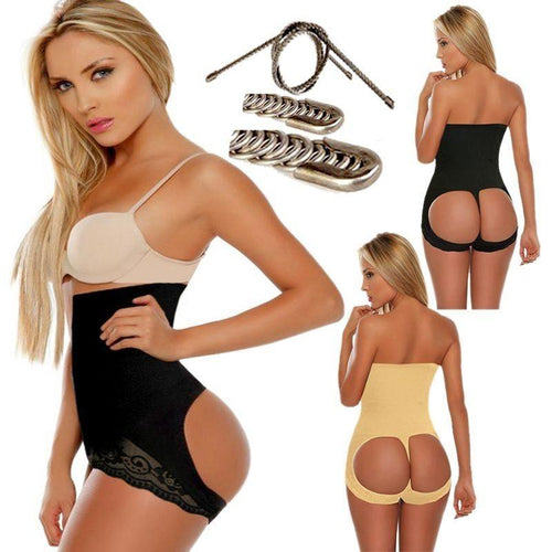 durable body control bum lifting panties with wire support