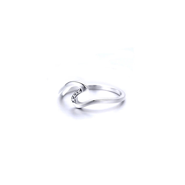 Sparkle Wave Ring