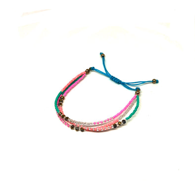 strawberry daiquiri bracelet | handmade