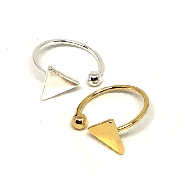 Power Triangle Adjustable Ring