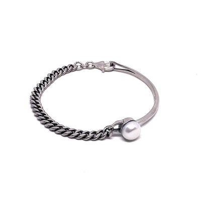 The World is Your Oyster Bracelet in Sterling Silver