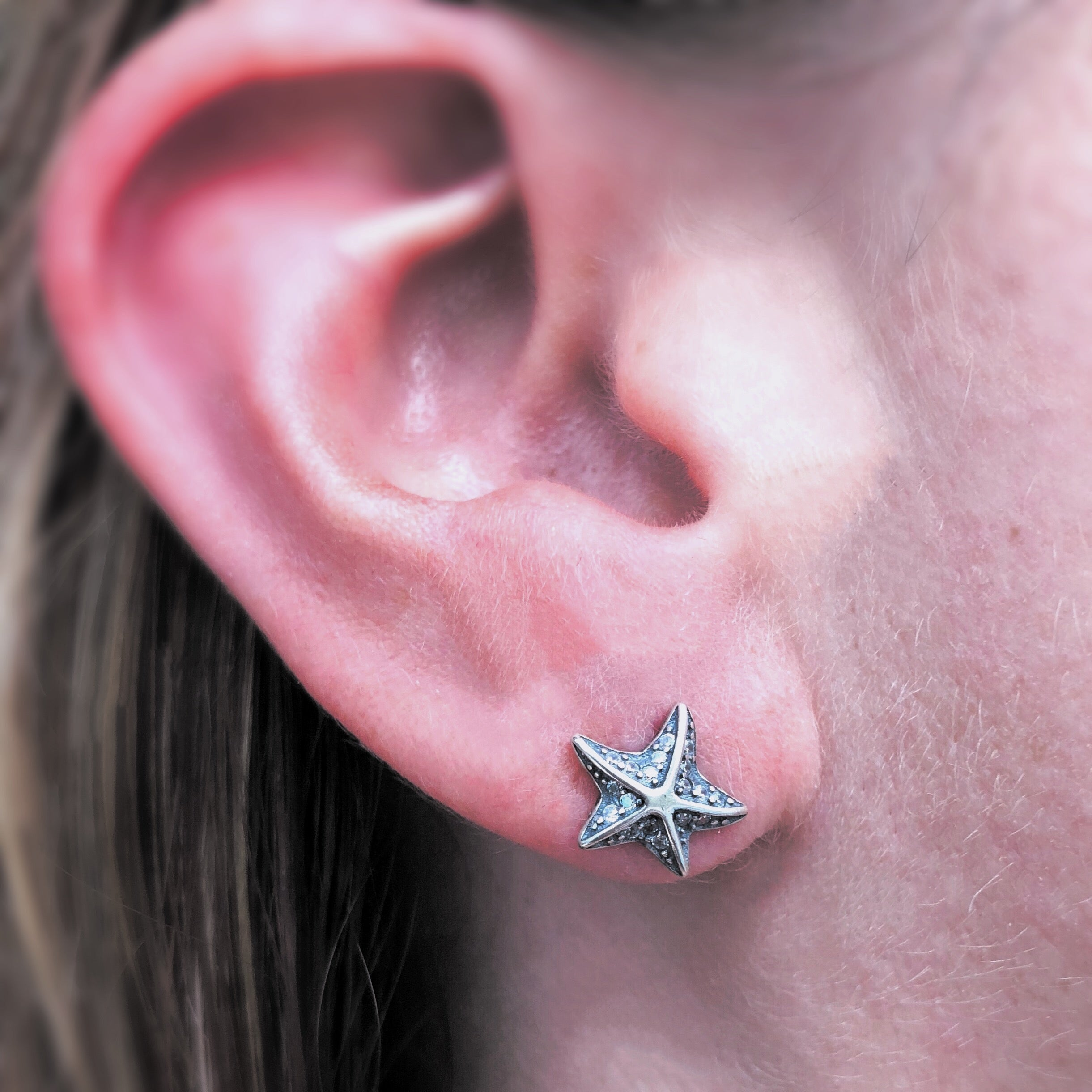 tropical l off accessories silver stud s e earrings a vacation products starfish sterling