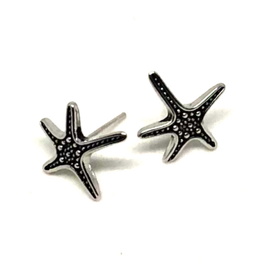 Dazzling Dancing Starfish Tropical Earrings