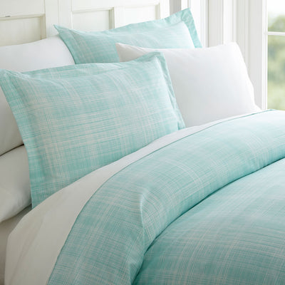 Thatch Patterned 3-Piece Duvet Cover Set