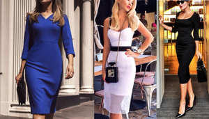 Summer Fashion: Pencil Dress or Fitted Sheath Dress