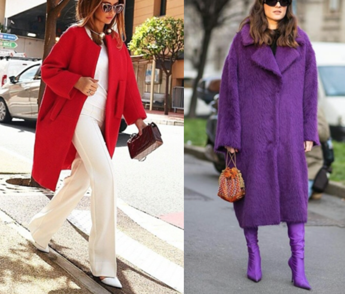 Stylish Coats - Part 2 - Bright Colors