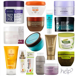 Hair Treatments Part 2: Hair Conditioners and Masks