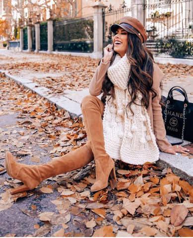 ed26839f96 ... his best-seller boots and every fashion minded girl wanting to wear them!  An over-the-knee boot should be a staple for your fall and winter wardrobes.