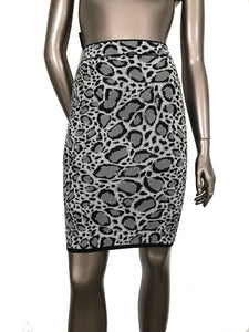 BCBG Max Azria Pavel Jacquard Power Skirt
