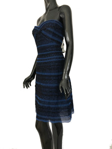 BCBG Max Azria Valentine Blue Dress