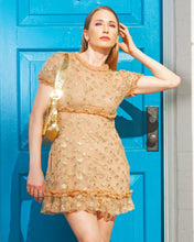 For Love And Lemons Golden Garden Mini Tulle Dress