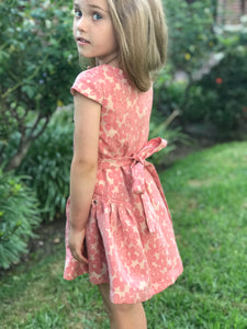 Isobella & Chloe Floral Print Dress