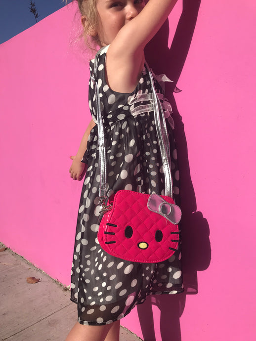 Hello Kitty Fuchsia Shoulder Girls Bag