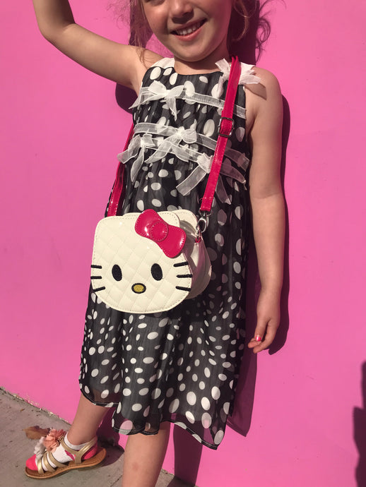 Hello Kitty White Shoulder Girls Bag