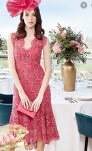 Karen Millen Pink Royal Ascot Collection Lace Dress
