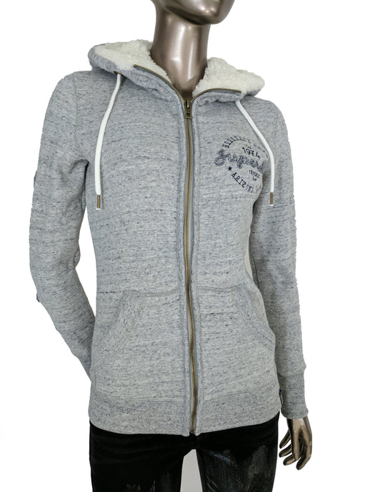 Superdry American Girl Applique Zip Hoodie
