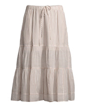 Xirena Malone Striped 100% Cotton Skirt