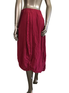 Oh My Gauze Pully Garnet 100% Cotton Boho Skirt