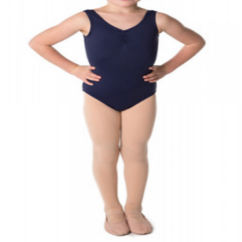 """April"" Cotton Tank Leotard - Toddler/Infant sizes  Various colours"