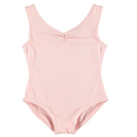 Basic Girl's Leotard in Pink/Baby Blue - last sizes!