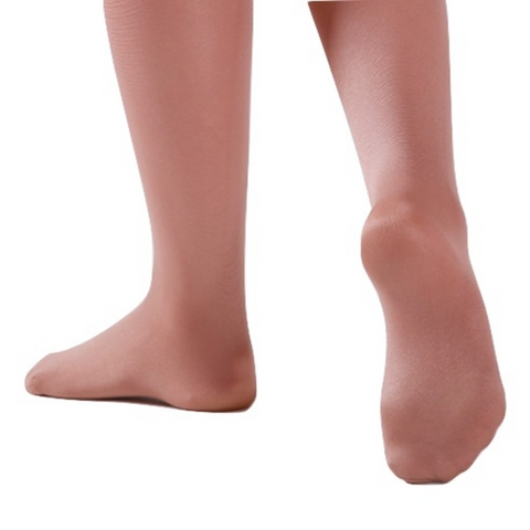 Footed Shimmer Stockings - Slick Dancewear