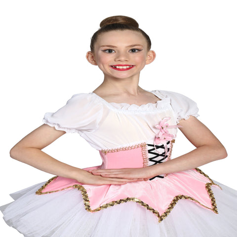 """Coppelia"" Ballet costume - Girl's size 8-10 yrs (Second hand)"